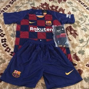 Barcelona kids uniform full kit 2019/20